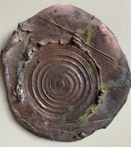 Tryptic raku plate